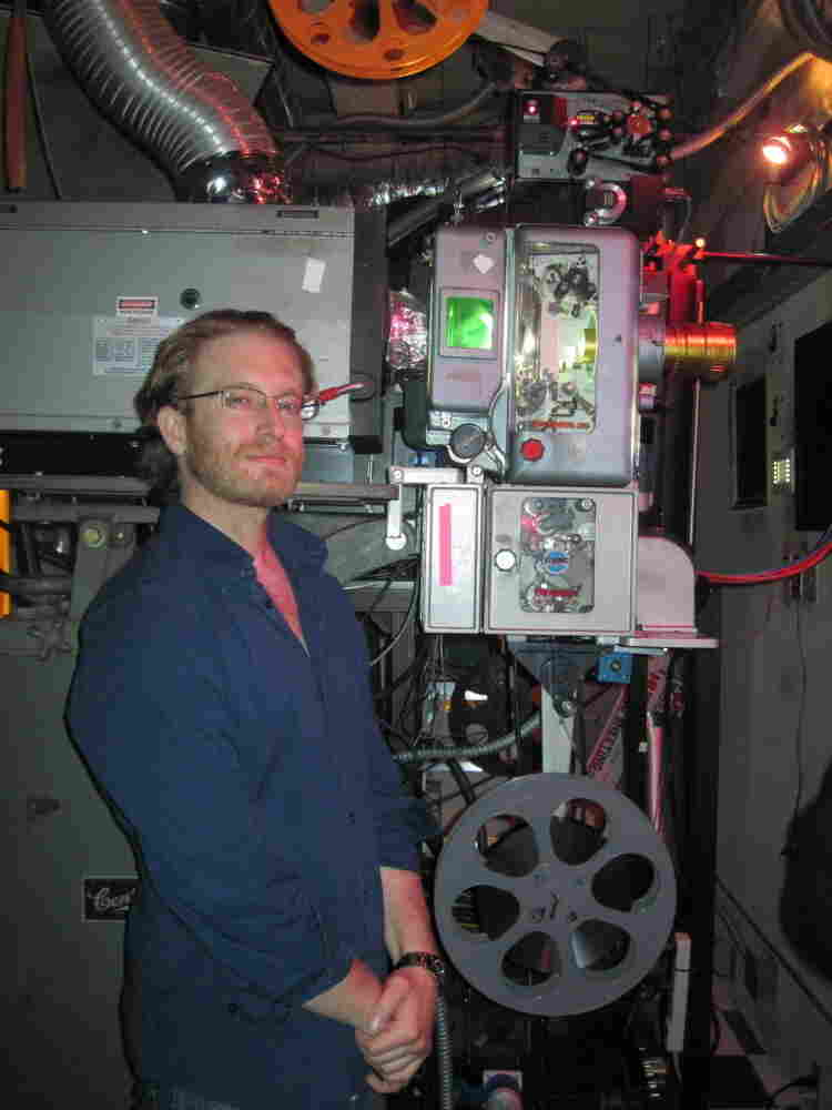 Josh Aidikoff mastered the complicated business of running film projectors when he was still in his teens. Now, the Aidikoff Screening Room has a digital projector, too, and Josh predicts that in a few years he won't be handling film at all.