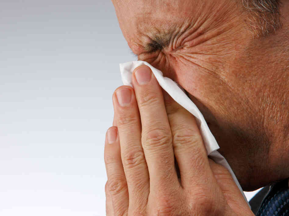 Go ahead and blow, but resist the antibiotics for a typical sinus infection.