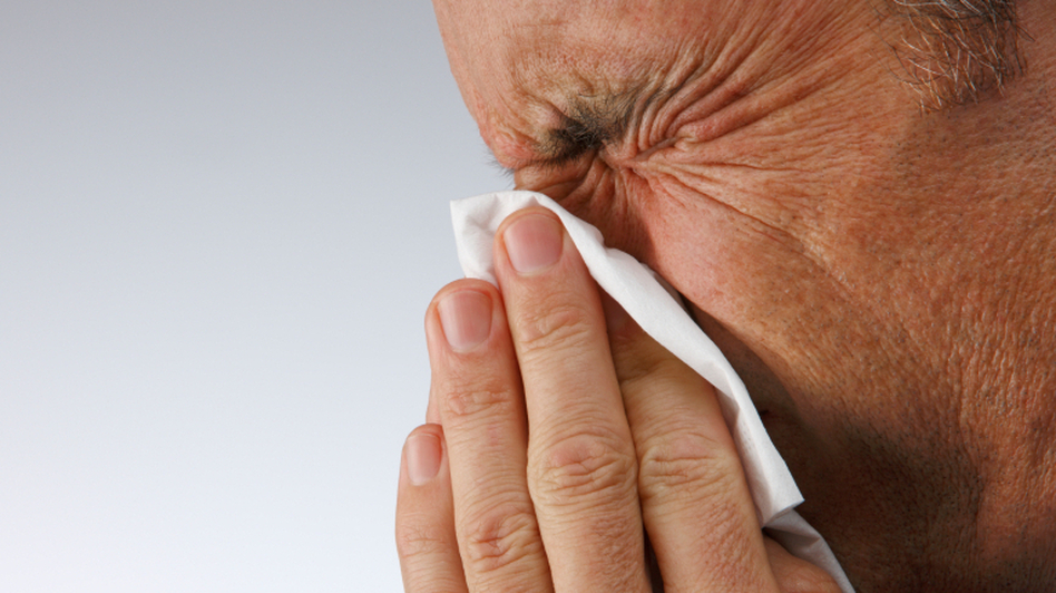 Go ahead and blow, but resist the antibiotics for a typical sinus infection. (iStockphoto.com)