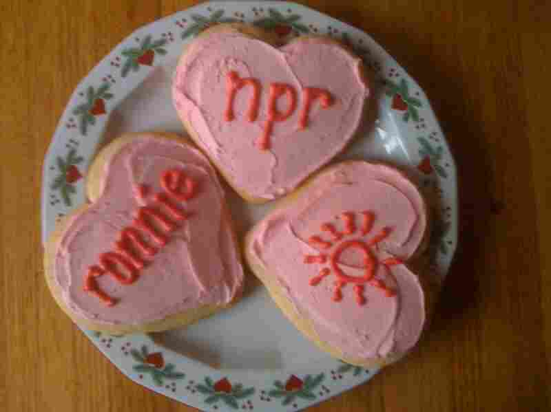 A pretty tasty-looking plate of NPR love.