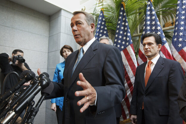 Speaker John Boehner didn't cite it being an election year or Congress' low approval ratings for the GOP's new flexibility but it's hard to ignore s