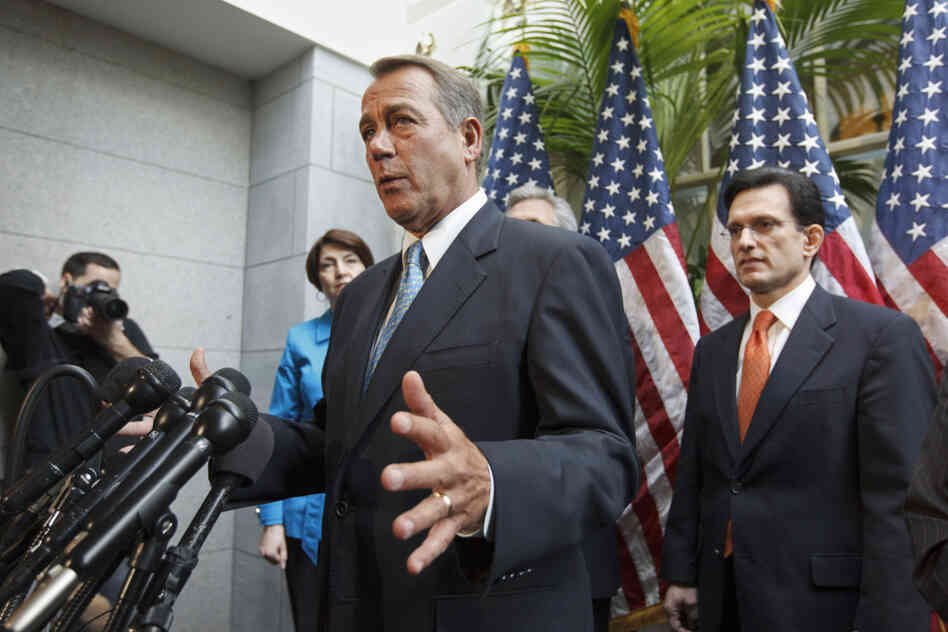 Speaker John Boehner didn't cite it being an election year or Congress' low app