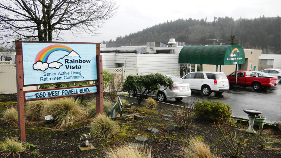 """The Rainbow Vista retirement community in Gresham, Ore., bills itself as """"100 percent gay owned and operated."""""""