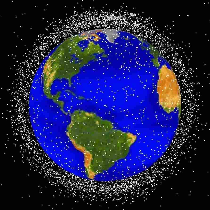 Swiss Space Program Targets Thousands Of Pieces Of 'Orbital Debris'