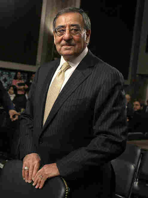 Defense Secretary Leon Panetta says the military will focus more on Asia. He says the Pentagon can absorb some budget cuts, but warns that they must not be too deep. He's shown here Tuesday on Capitol Hill, where he testified before the Senate Armed Services Committee.