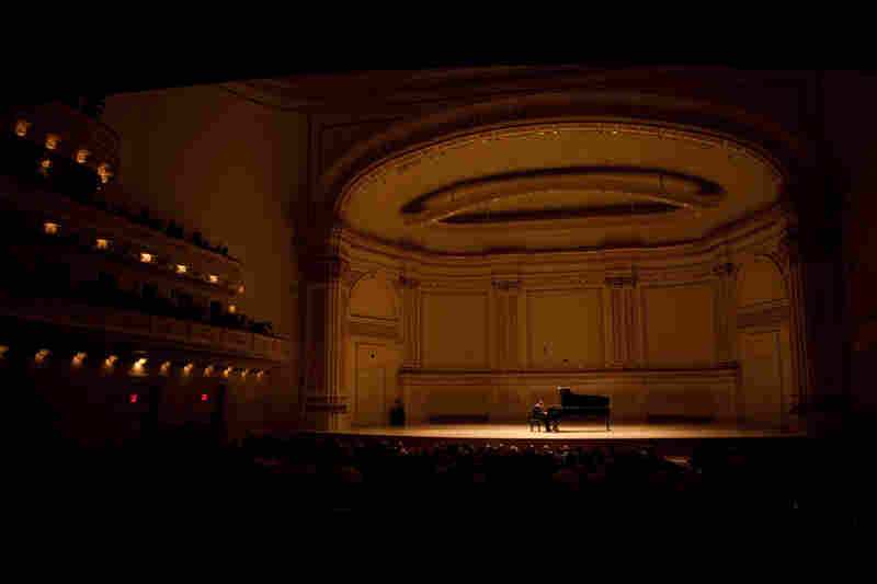 One man. One piano. An entire symphony of  sounds.
