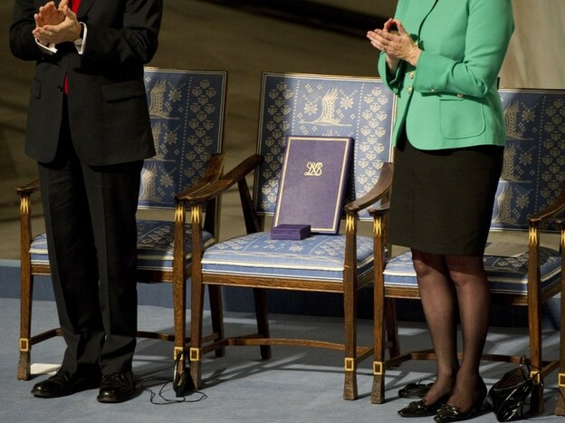 With the Nobel Laureate Liu Xiaobo imprisoned in China, the 2010 Nobel Peace Prize ceremony centered around an empty chair.