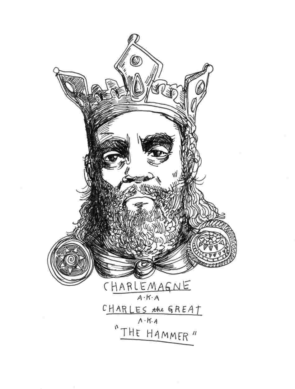 How Many Direct Descendants Of Charlemagne