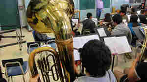 Hold On To Your Tuba: Brass Bandits Hit L.A. Schools