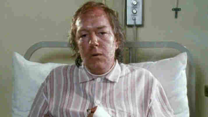 Michael Gambon plays a writer hospitalized with a horrible skin condition in the 1986 BBC miniseries The Singing Detective.