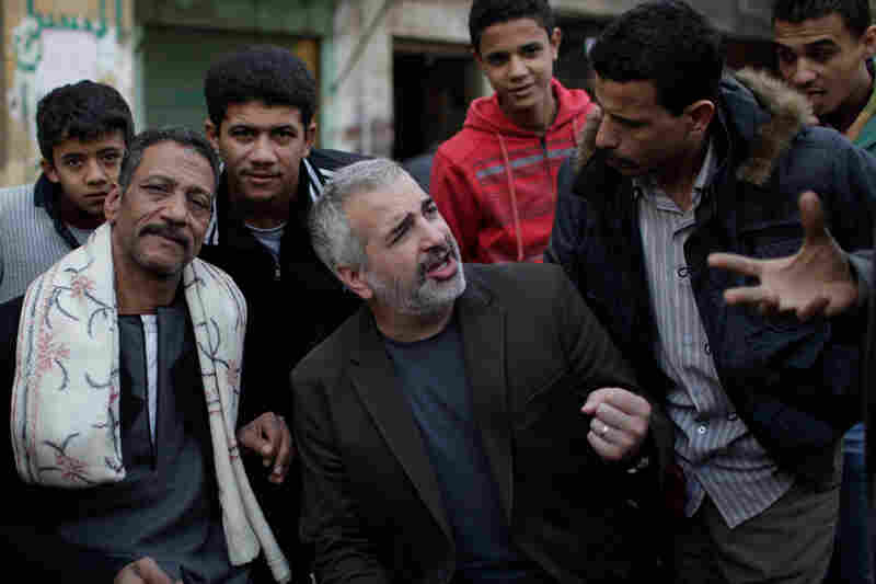 Shadid was one of the signature chroniclers of the 2011 revolution in Egypt for The New York Times. Here he talks with residents of Cairo's impoverished Imbaba neighborhood.