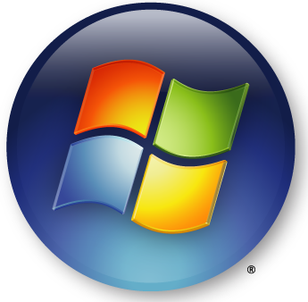 The Windows Vista logo.