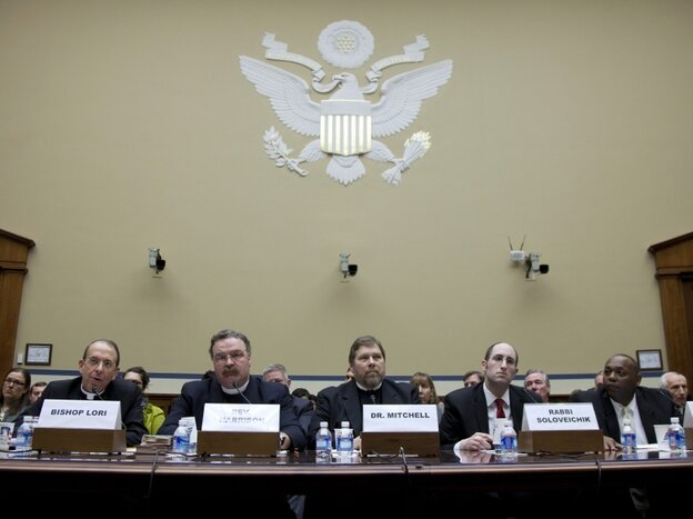 Panelists testify Thursday before the House Oversight and Government Reform Committee hearing.