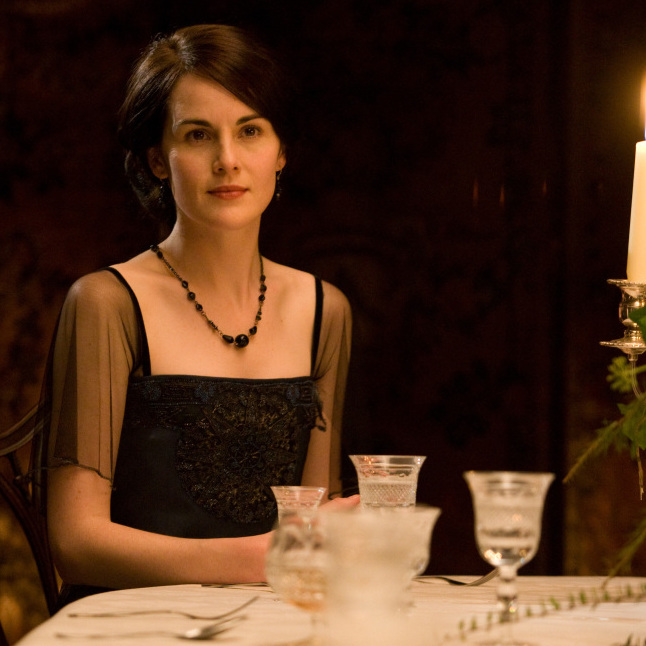 Michelle Dockery as Lady Mary: As Downton Abbey viewers know, dining in fine style was de rigueur in Edwardian England.