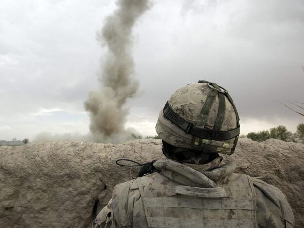 Traumatic brain injuries are most often caused by powerful blasts from improvised explosive devices. A roadside bomb explodes, and the concussive effect violently shakes the brain inside the skull.