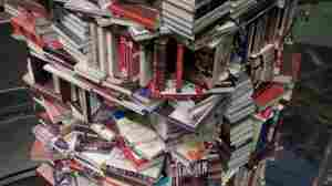 Forget Lincoln Logs: A Tower Of Books To Honor Abe