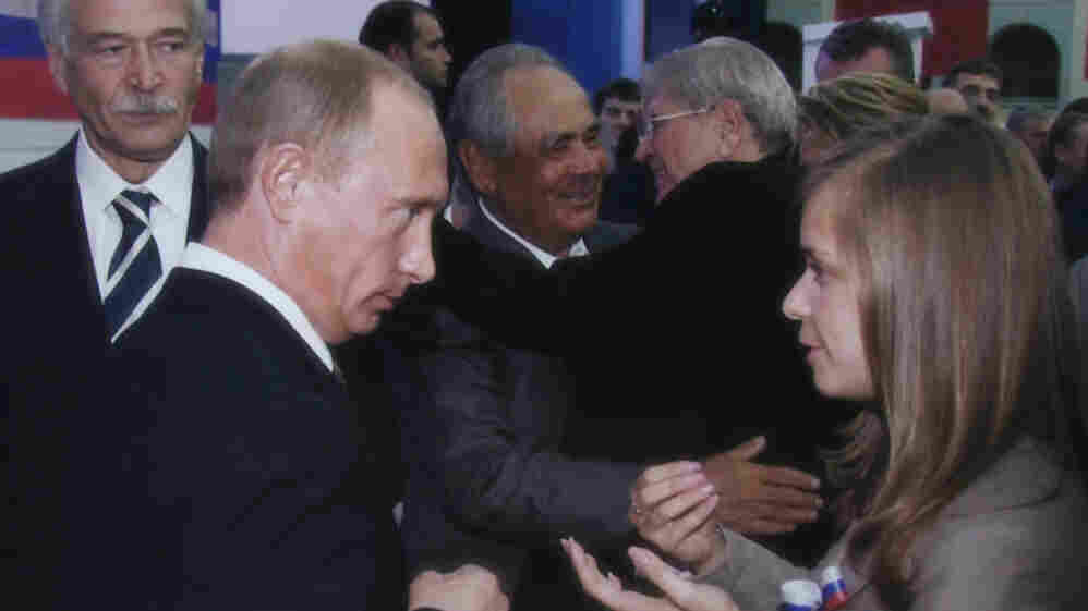 The documentary Putin's Kiss charts four years in the life of Masha Drokova, who became famous as the girl who publicly kissed Vladimir Putin.