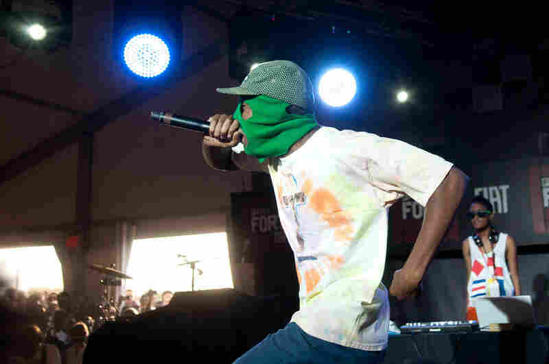 When Odd Future emerged in 2010, rapper Tyler the Creator often performed wearing a ski mask, but a representative says he's now done with masks forever.