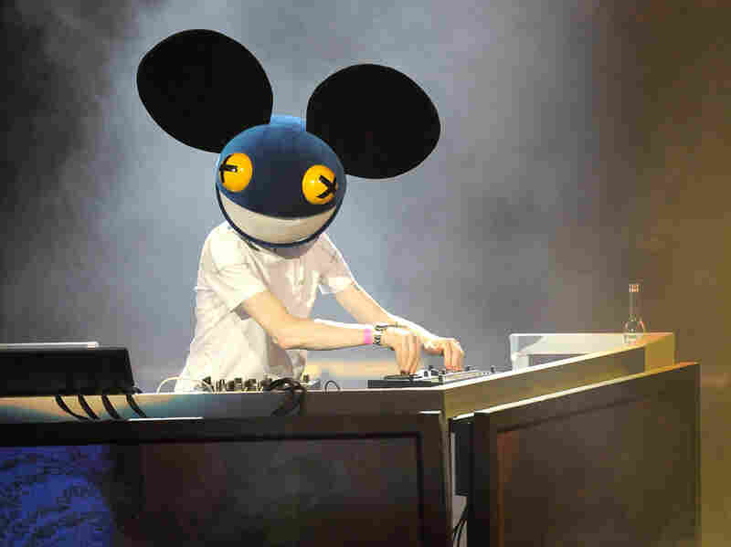 Deadmau5 in Los Angeles. The DJ's shows are often filled with fans wearing homemade versions of his trademark mouse-head mask.