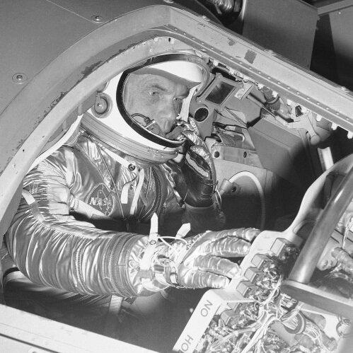 John Glenn, A Hero Well Before Orbiting Earth