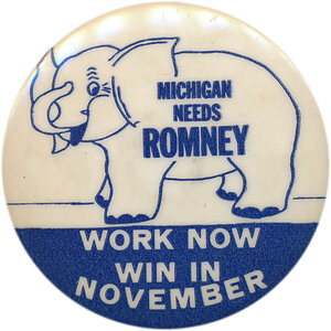 Yes, the Romney name was golden in Michigan, where George Romney was elected governor three times.  But the last one came in 1966 — some 45 years ago.
