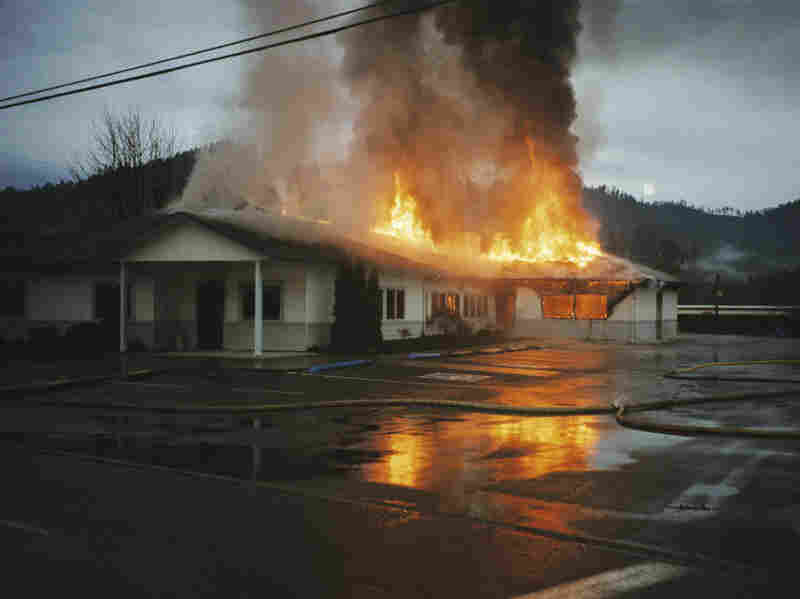 Members of the Earth Liberation Front were charged with arson in the 2001 Superior Lumber Co. fire in Glendale, Ore.