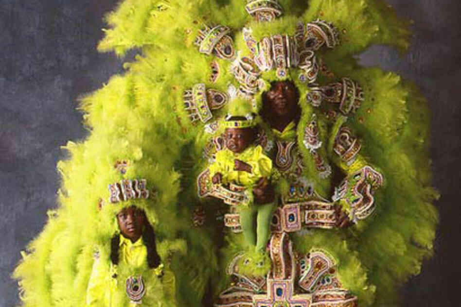Photographer Christopher Porche West has been documenting the Mardi Gras Indians for some three decades. Here is a small selection of his work spanning the years and various tribes — showing legendary designers and remarkable faces.