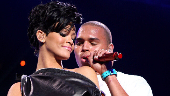 Prime Rihanna And Chris Brown The Saga Continues The Record Npr Personalised Birthday Cards Paralily Jamesorg