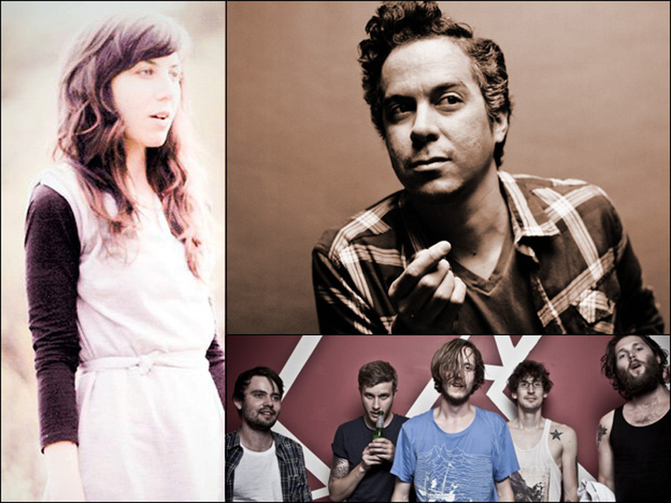 Julia Holter (left), M. Ward (top right), Dry the River (bottom).
