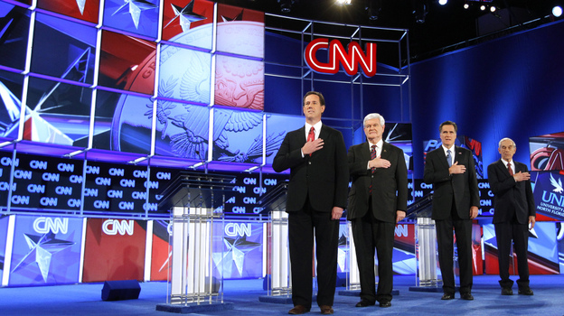 Depending on how you tally them up, there have been 26 debates so far this GOP primary season. How many is too many? (Reuters /Landov)