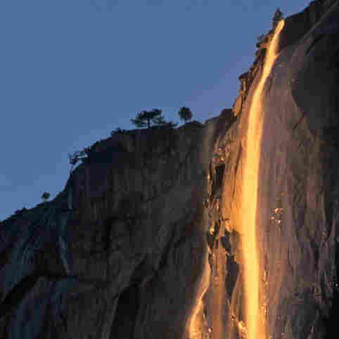 From Waterfall To Lavafall: Yosemite's Fleeting Phenomenon