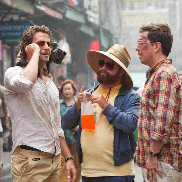 Drinking on screen, even in a cautionary tale like The Hangover Part II, can encourage kids to try drinking, according to new research.
