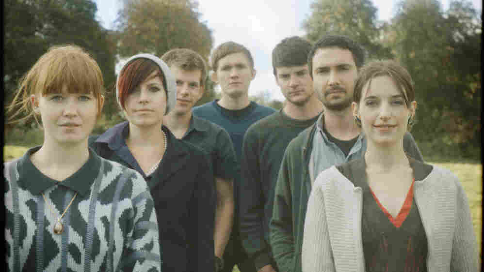 Los Campesinos! has earned a reputation for dark humor and danceable beats.