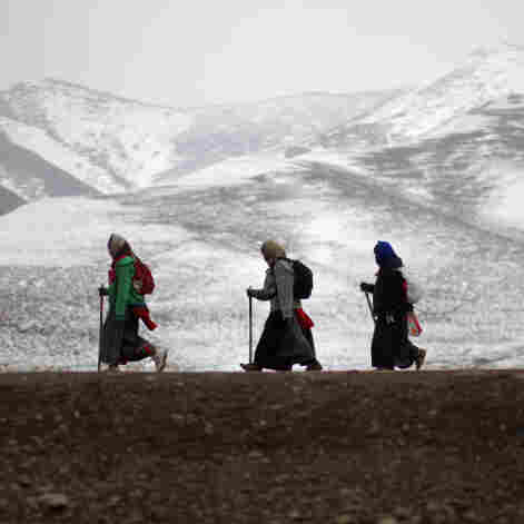 On Tibetan Plateau, A Sense Of Constant Surveillance