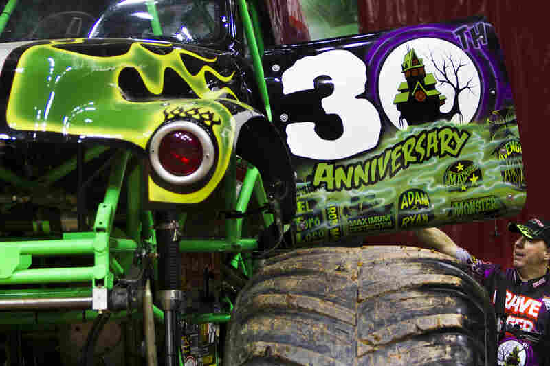 The Grave Digger team of monster trucks, considered to be one of the most influential monster trucks of all time, is currently celebrating its 30