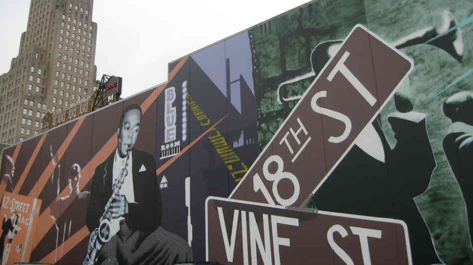 A mural in the 18th and Vine Jazz District of Kansas City.