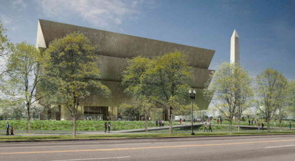 An artist's conception of what the Smithsonian's National Museum of African American History and Culture will look like when it's finished in 2015. The Was