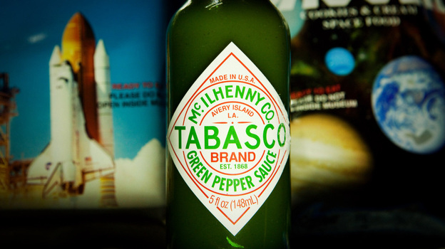 Astronauts may have a particular affinity for Tabasco sauce in space because their sense of smell and taste is distorted. (NPR)