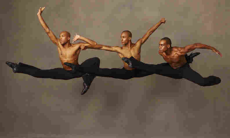 Members of the Alvin Ailey American Dance Theater perform Revelations, a piece set to gospel spirituals that Ailey choreographed when he was 29.