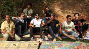 From War Correspondents In Libya, A Toast To Fallen Comrades In Syria