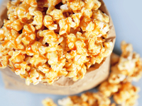 Brown rice syrup, which can be high in arsenic, is sometimes used in vegan recipes like this caramel corn.
