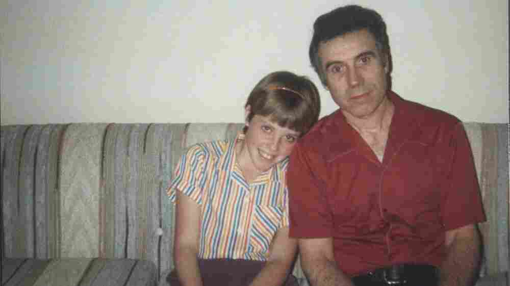 Joy Johnston and her father, Patrick, in 1983, years before Alzheimer's changed their relationship.