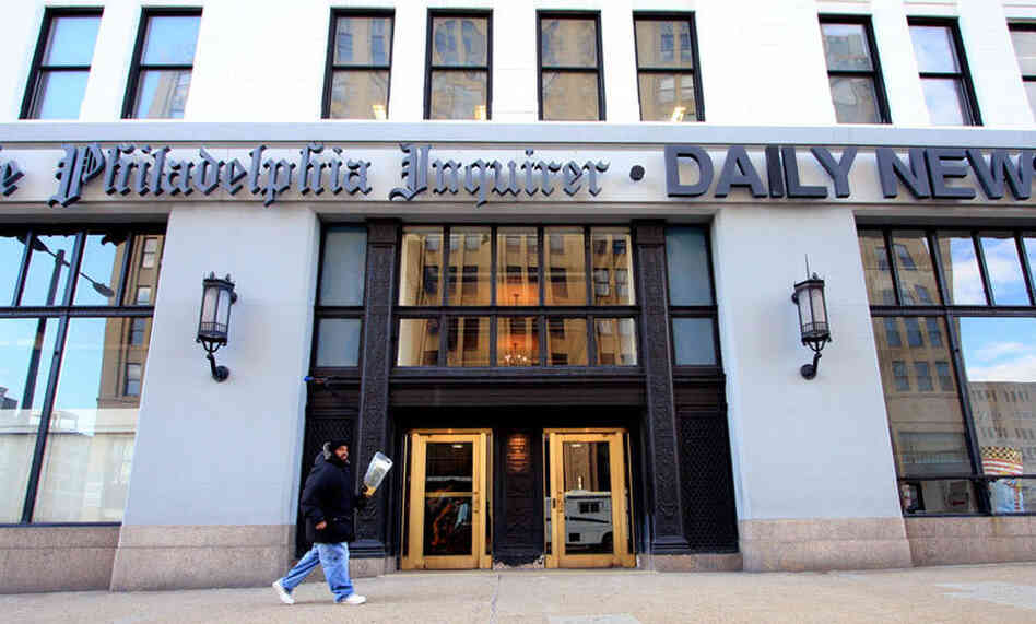 The publisher of the Philadelphia Inquirer and the Philadelphia Daily News has been accused of interfering with coverage