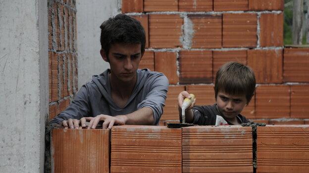 Nik (Tristan Halilaj, left) and hi