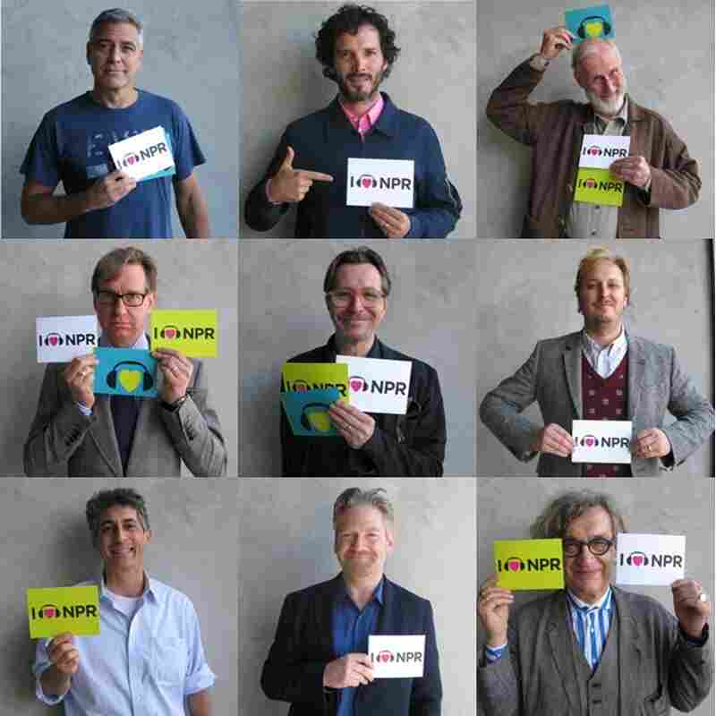 Top: George Clooney, Brett McKenzie, James Cromwell; Middle: Paul Feig, Gary Oldman, James Bobin; Bottom: Alexander Payne Kenneth Branagh, Wim Wenders