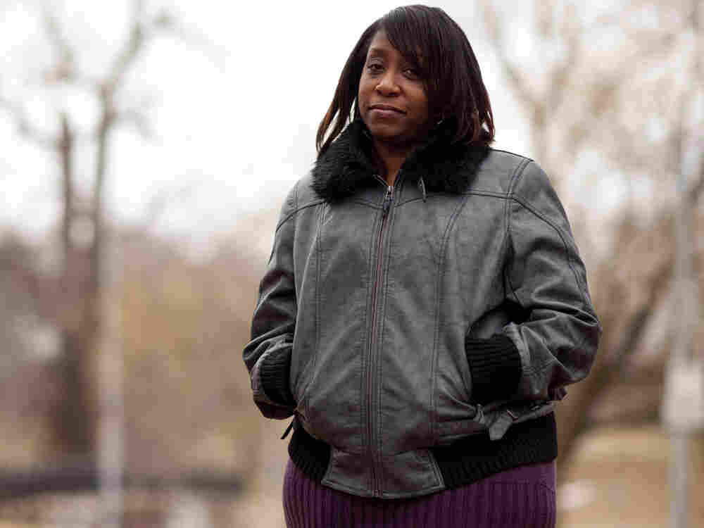 Casaundra Bronner, 39, of Hazelwood, Mo., worked in marketing before being laid off in March 2010 from Anheuser-Busch.