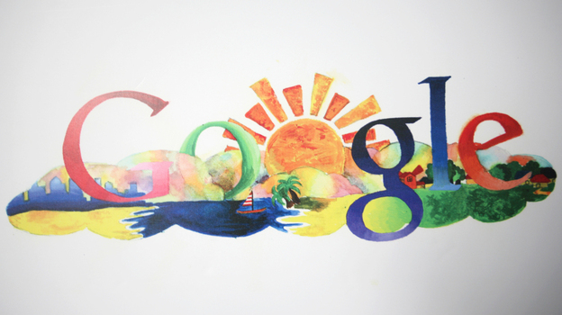 What would the world look like seen through Google's eyes? (AFP/Getty Images)
