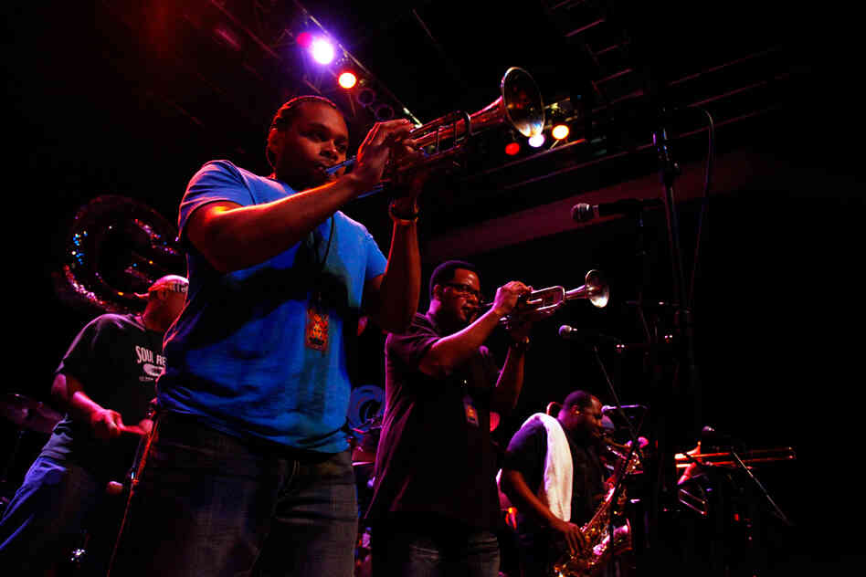 The Soul Rebels, performing live at the 9:30 Club in Washington, D.C.