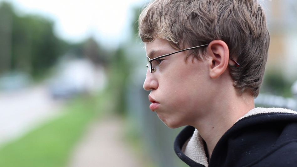 Alex, one of the kids who struggles with bullies in Lee Hirsch's documentary <em>Bully</em>.