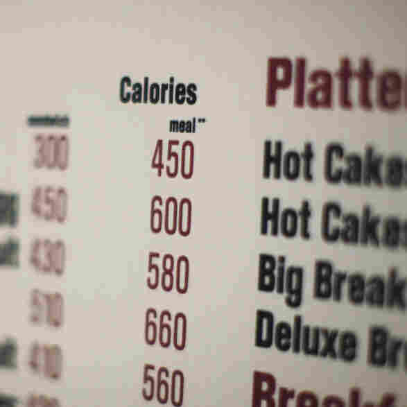 Menu Math: When Counting Fast Food Calories Requires A Calculator